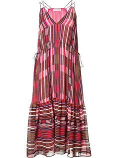 платье миди с треугольным вырезом Apiece Apart