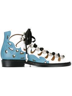 embellished lace-up sandals Toga