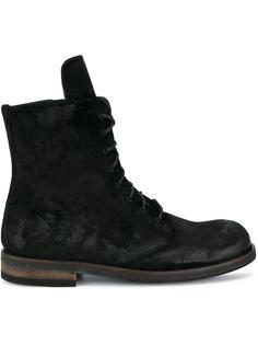 ботинки на шнуровке Ann Demeulemeester
