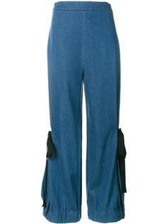denim wide-leg trousers Creatures Of The Wind
