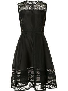 расклешенное платье с кружевной отделкой Jason Wu