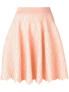 юбка с фестончатым подолом Jonathan Simkhai