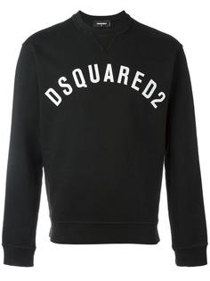 vintage effect logo sweatshirt Dsquared2