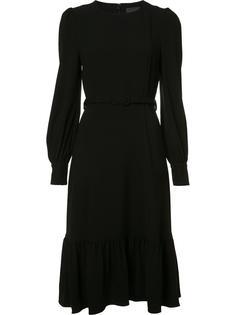 платье шифт с поясом Co
