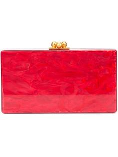 marbled effect clutch Edie Parker