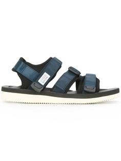hook & loop flat sandals Suicoke