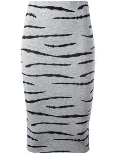 tiger print pencil skirt  Zoe Karssen