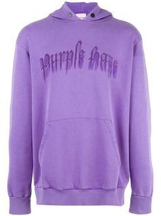 logo print hoodie Palm Angels
