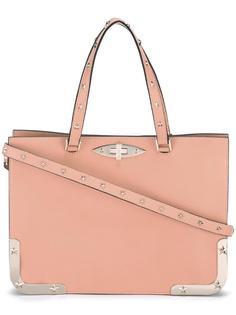 сумка-тоут с металлическими деталями Red Valentino