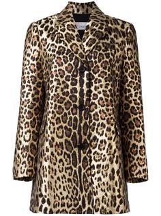 леопардовое пальто Red Valentino