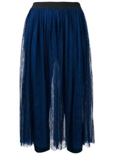 lace layer pleated skirt  Twin-Set