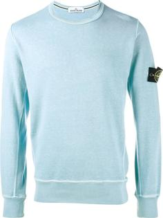 washed crew neck sweatshirt Stone Island