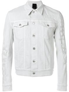 distressed denim jacket  Dior Homme