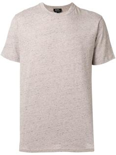 Jimmy marled T- Shirt A.P.C.