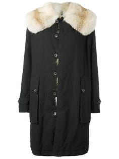 пальто миди с застежкой на пуговицы Mr & Mrs Italy