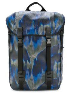 рюкзак с принтом тай-дай Lanvin