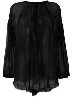 Shirred Peasant blouse Raquel Allegra
