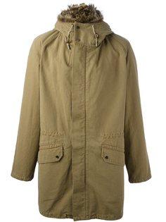 пальто с капюшоном Yves Salomon Homme