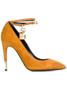 туфли с ремешками вокруг щиколоток Tom Ford