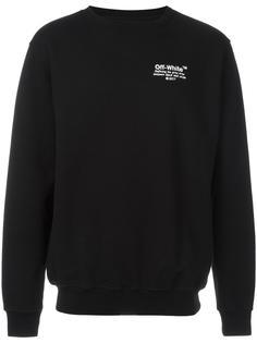 embroidered sweatshirt Off-White