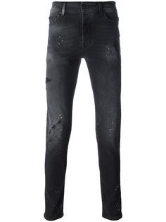 рваные обтягивающие джинсы Marcelo Burlon County Of Milan