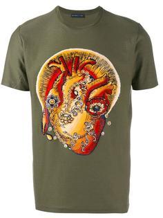 футболка с принтом сердца Etro