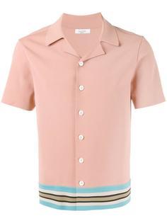 рубашка с полосатой отделкой Valentino