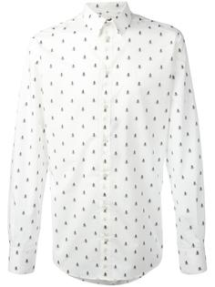 рубашка с узором из пчёлок Dolce & Gabbana