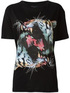 футболка с принтом тигров Marcelo Burlon County Of Milan