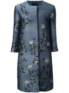 leaves jacquard mid coat Max Mara