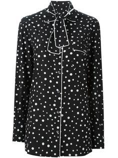 пижамная рубашка в горох Dolce & Gabbana
