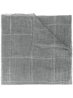 шарф в клетку Brunello Cucinelli