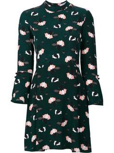 расклешенное платье с цветочным рисунком Derek Lam 10 Crosby