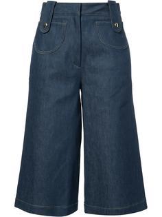 джинсовые кюлоты Derek Lam