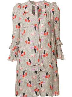 платье с абстрактным рисунком Derek Lam 10 Crosby