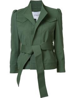 куртка с поясом и воротником-стойкой Derek Lam 10 Crosby