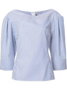 блузка в тонкую полоску Derek Lam