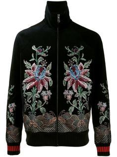 куртка бомбер с вышивкой Gucci
