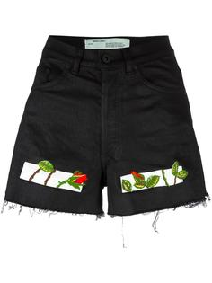 embroidered shorts Off-White