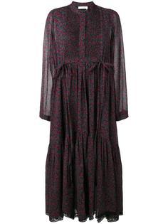 платье с узором в виде вишен Chloé