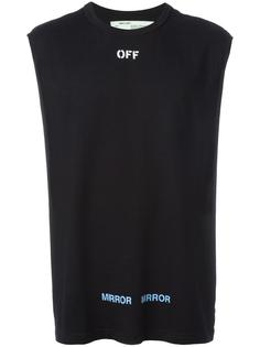 футболка Care Off Off-White
