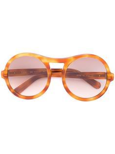 солнцезащитные очки в круглой оправе Chloé