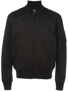 embroidered wing bomber jacket Marcelo Burlon County Of Milan