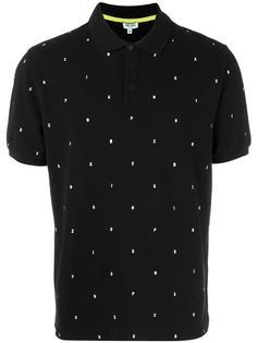 футболка-поло с графической вышивкой Kenzo