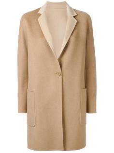 пальто на одной пуговице Max Mara