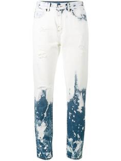 выбеленные джинсы-бойфренды Gucci