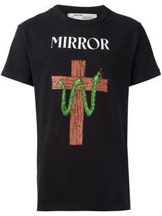 футболка Snale Mirror Off-White