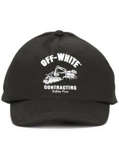 кепка с принтом логотипа Off-White