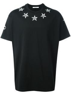 футболка с принтом в виде звезд Givenchy