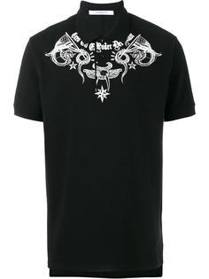 рубашка-поло с принтом Givenchy